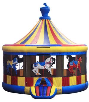 16′ Carousel Bounce House