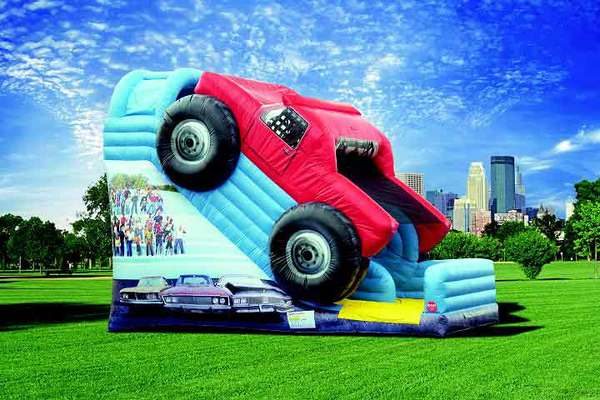 18′ Monster Truck Slide