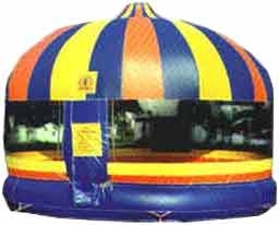 20′ Round Enclosed Bounce House
