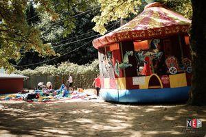25′ Carousel Bounce House