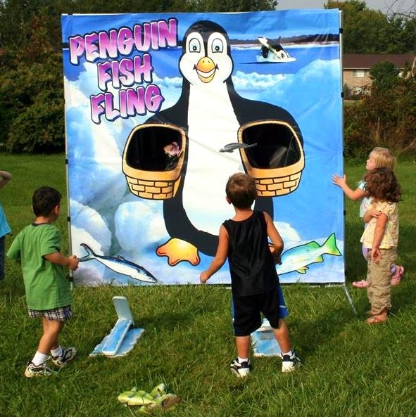 Penguin Fish Fling