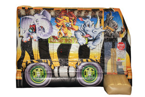 Safari Bus Bounce House